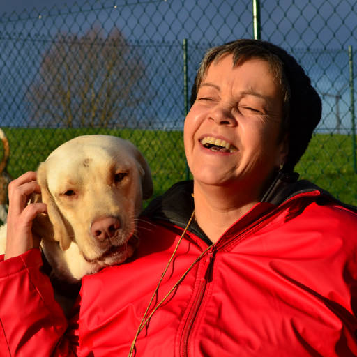 Hundetrainerin Regina Schmitt